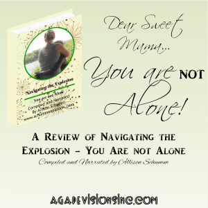 A review of Navigating the Explosion via @AgapeVisionsInc