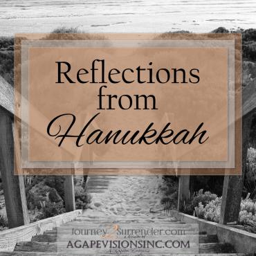 Reflections from Hanukkah