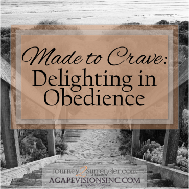 Made to Crave: Delighting in Obedience