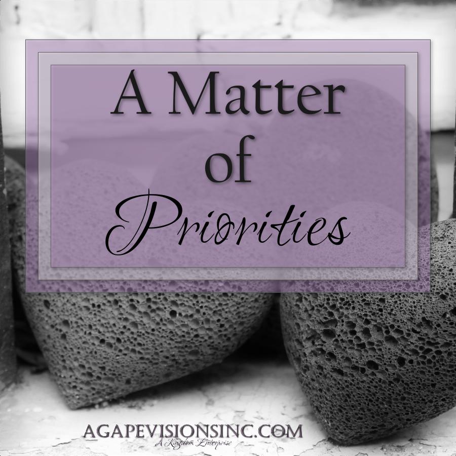 2014_03_23 Priorities