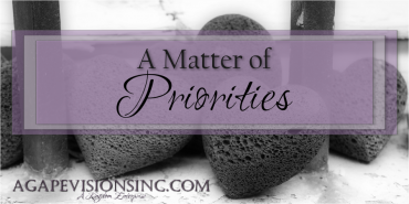 A Matter of Priorities