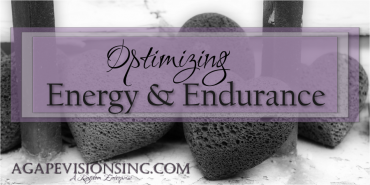 Optimizing Energy & Endurance