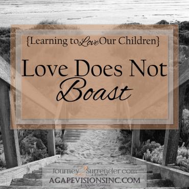 Love Does Not Boast