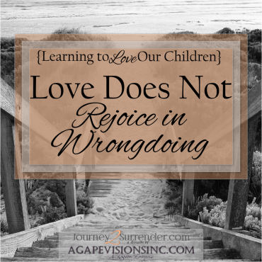 Love Does Not Rejoice in Wrongdoing