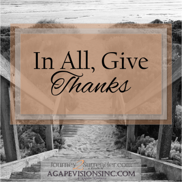 In All, Give Thanks
