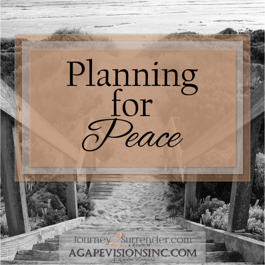 Planning for Peace