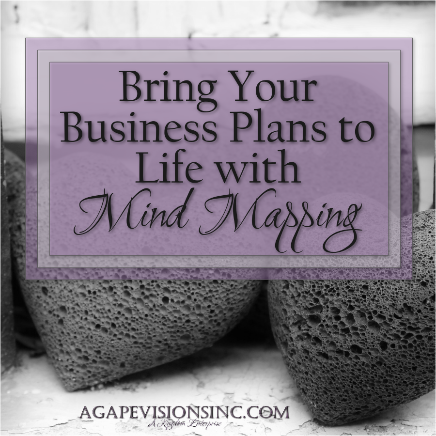 Using Mind Mapping in Business via @AgapeVisionsInc